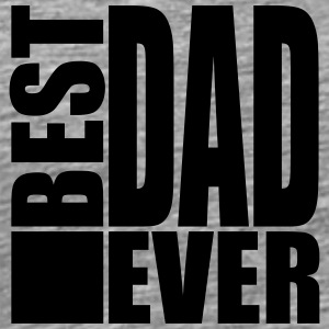Best Dad Ever Logo Design T-shirts - Mannen Premium T-shirt