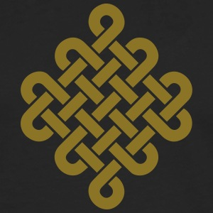 Infinity Buddhism Tibetan endless knot Celtic Long sleeve shirts - Men's Premium Longsleeve Shirt