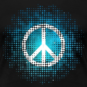 Peace Symbol Love Harmony Freedom Dots Summer T-Shirts - Women's Premium T-Shirt