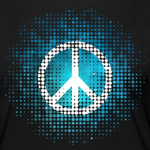 Peace Symbol Love Harmony Freedom Dots Summer Tee shirts manches longues - T-shirt manches longues Premium Femme