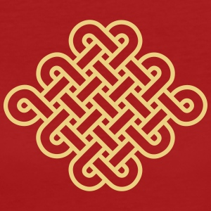 Knot Infinity Buddhism Tibet endless eternal celts T-Shirts - Women's Organic T-shirt