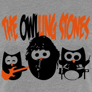 the owling stones T-Shirts - Frauen Premium T-Shirt