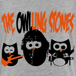 the owling stones Shirts - Kids' Premium T-Shirt