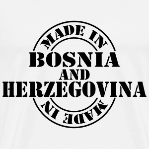 made_in_Bosnia_and_Herzegovina_m1 T-shirts - Mannen Premium T-shirt