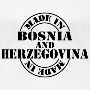 made_in_Bosnia_and_Herzegovina_m1 T-Shirts - Frauen Premium T-Shirt
