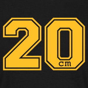 20 centimeter - Men's T-Shirt