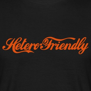 hetero friendly - T-shirt herr