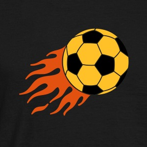 burning ball - T-shirt herr