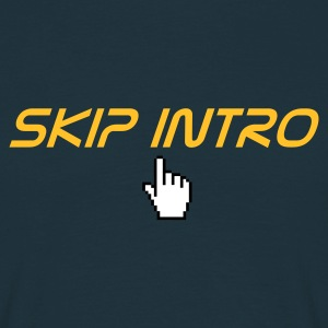 skip intro - Mannen T-shirt
