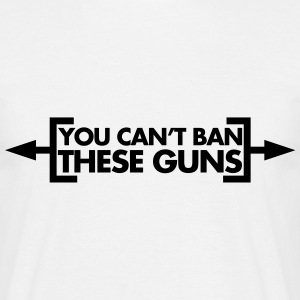 Ban These Guns T-shirts - T-shirt herr