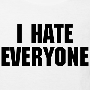 I Hate Everyone T-shirts - Ekologisk T-shirt barn