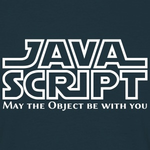 JavaScript - May the Objet be with you T-Shirts - Männer T-Shirt