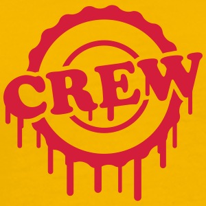 Cool Crew Stamp Design T-skjorter - Premium T-skjorte for menn
