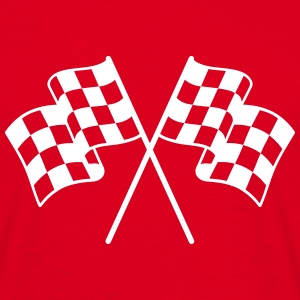 Checkered Flags 1 color T-Shirts - Men's T-Shirt