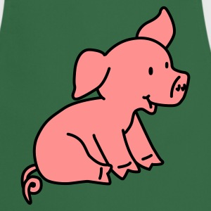 Happy Pig - Cooking Apron