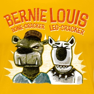 bernie and louis T-Shirts - Frauen Premium T-Shirt