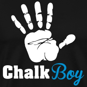 Climbing: Chalk boy T-Shirts - Men's Premium T-Shirt