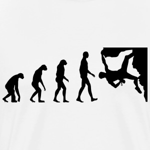 Evolution Climbing T-Shirts - Men's Premium T-Shirt