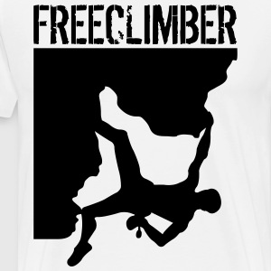 Freeclimber T-Shirts - Men's Premium T-Shirt