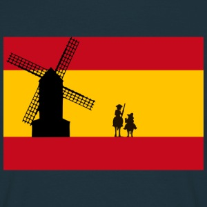 Don Quixote T-shirts - Herre-T-shirt