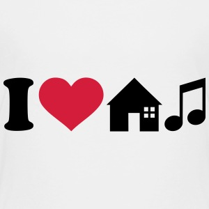 I love House Music T-Shirts - Kinder Premium T-Shirt