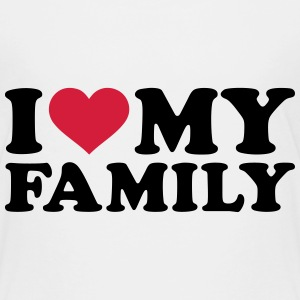 I love my Family T-Shirts - Kinder Premium T-Shirt