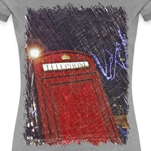 Rote telefonzelle London T-Shirts - Frauen Premium T-Shirt