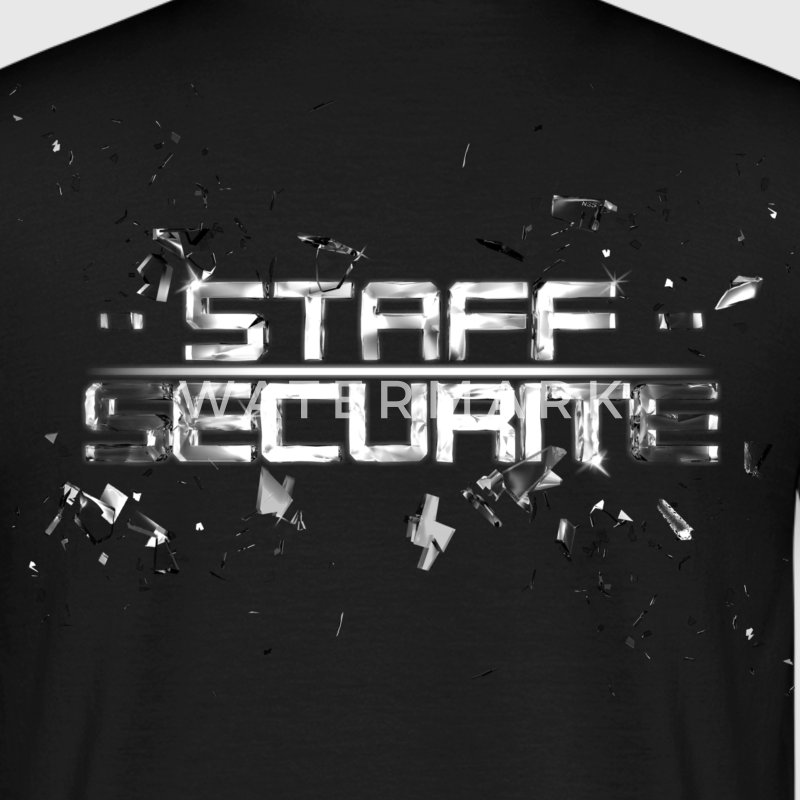 T SHIRT STAFF SECURITE by Florian VIRIOT - T-shirt Homme
