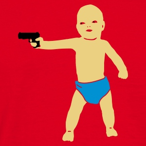 baby gun - T-skjorte for menn