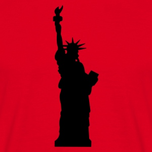 statue of liberty - Herre-T-shirt