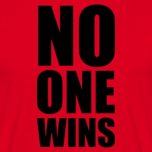 No One Wins - T-shirt herr