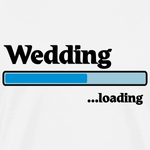 Wedding loading T-skjorter - Premium T-skjorte for menn