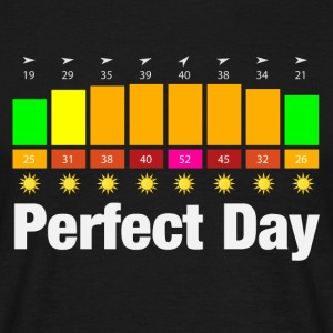 Perfect Day T-Shirts - Männer T-Shirt