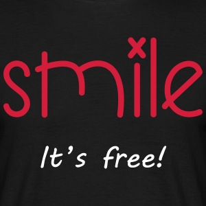 Smile T-shirts - Herre-T-shirt
