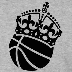 Basketball Krone Crown Pullover & Hoodies - Männer Pullover