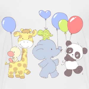 Little Panda Party Shirts - Kids' Premium T-Shirt