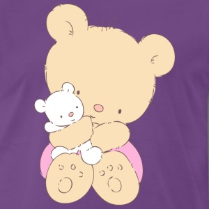 Bear hugging toy Teddy bear T-Shirts - Men's Premium T-Shirt