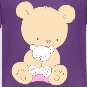 Bear with Teddy Bear Shirts - Kids' Premium T-Shirt