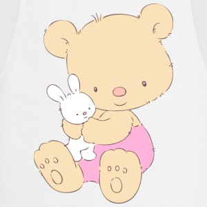 Teddy Bear with Toy Bunny  Aprons - Cooking Apron