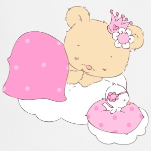 Bear princess sleeping on cloud  Aprons - Cooking Apron