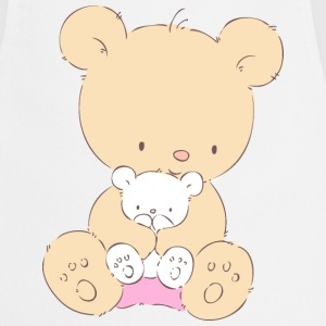 Bear with Teddy Bear  Aprons - Cooking Apron