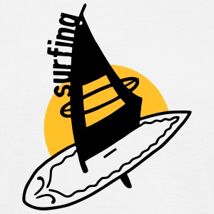 Wind Surfing - V2 T-Shirts - Men's T-Shirt
