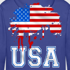 united states 07 Sweat-shirts - Sweat-shirt à capuche Premium pour hommes