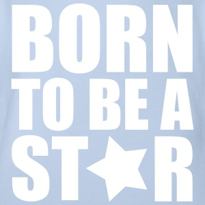 Born Star Shirts - Organic Short-sleeved Baby Bodysuit