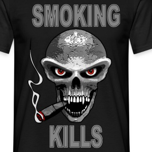 smoking kills - fumer tue Tee shirts - T-shirt Homme