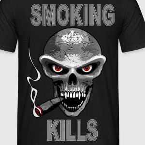 smoking kills - fumer tue T-Shirts - Men's T-Shirt
