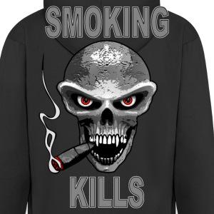 smoking kills - fumer tue Hoodies & Sweatshirts - Men's Premium Hooded Jacket
