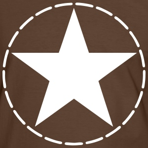 star US army T-Shirts - Men's Ringer Shirt