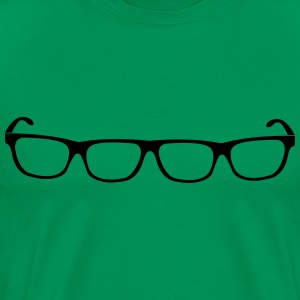 Four eyes glasses  T-Shirts - Men's Premium T-Shirt