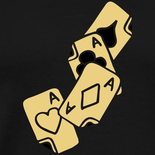 Poker Cards Game Ace Heart Spade Cross Caro Tattoo